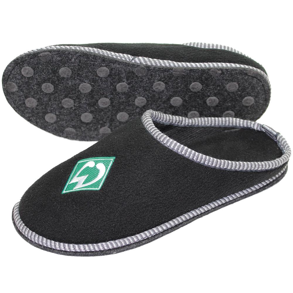 sv werder bremen hausschuhe pantoffeln logo gr en zur auswahl neu. Black Bedroom Furniture Sets. Home Design Ideas