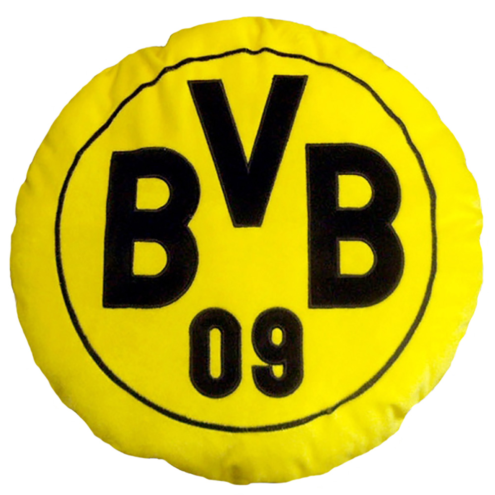 BVB Kissen Logo rund