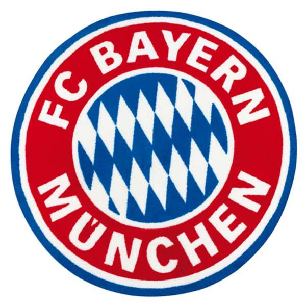 FC Bayern München Teppich FC Bayern München Logo