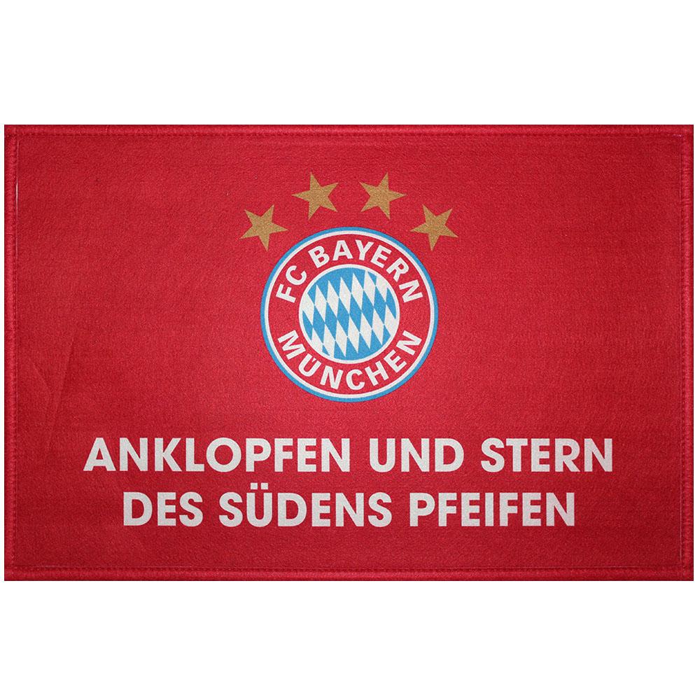 FC Bayern München Fussmatte Stern des Südens