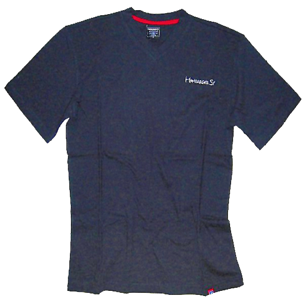 hsv hamburger sv t shirt logo schriftzug blau gr en zur. Black Bedroom Furniture Sets. Home Design Ideas