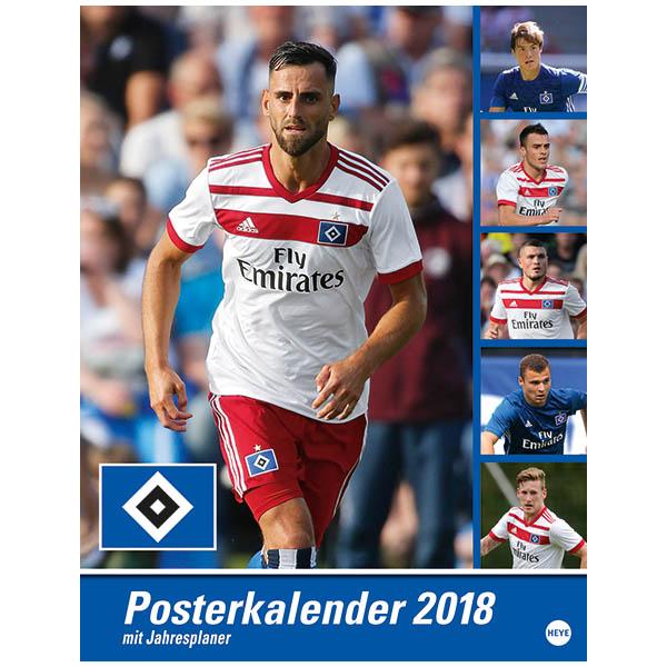 HSV Posterkalender 2018