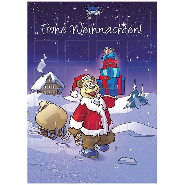 Hertha BSC Berlin Adventskalender 2017