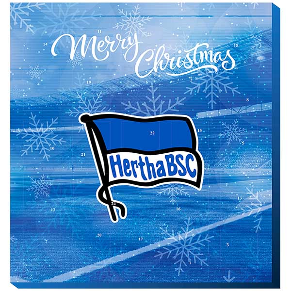 Hertha BSC Berlin Adventskalender 2018 Exklusiv