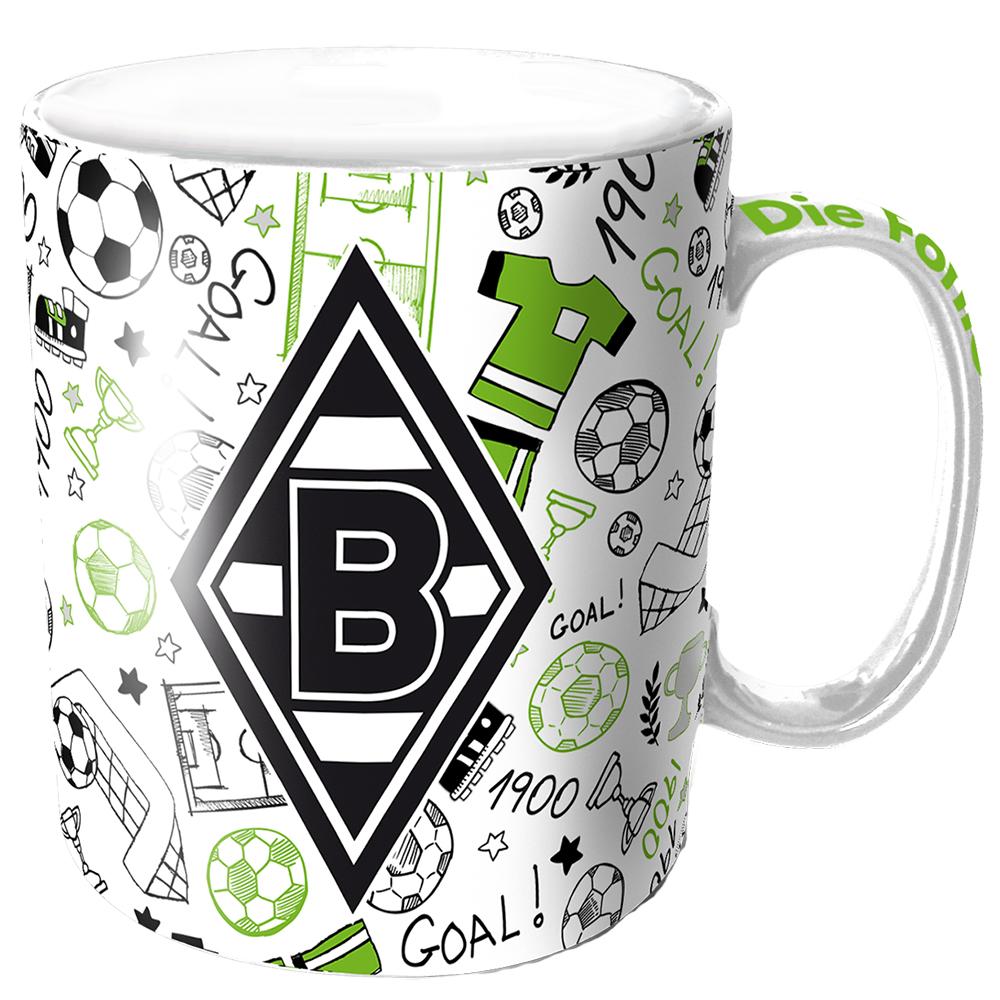 Borussia Mönchengladbach Tasse Comic