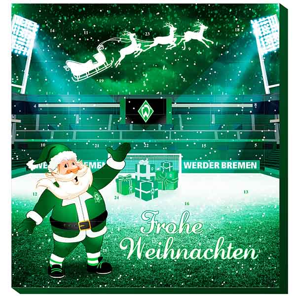 SV Werder Bremen Adventskalender 2018 Exklusiv