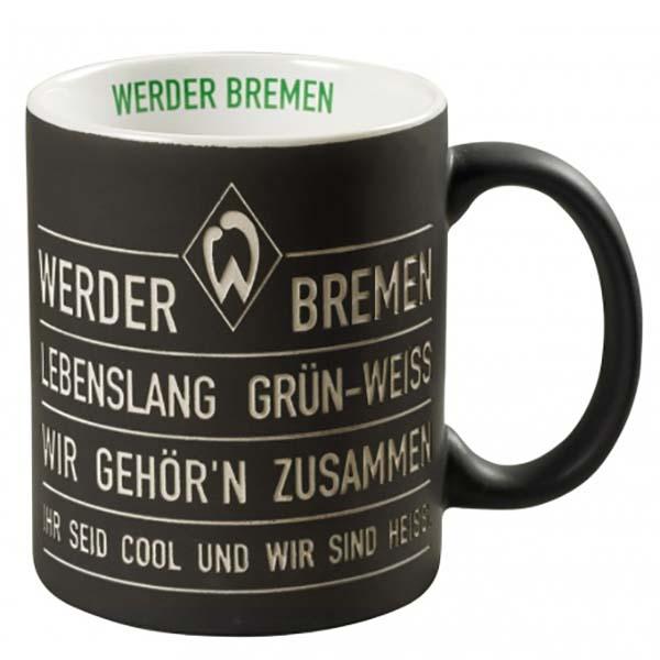SV Werder Bremen Tasse Hymne