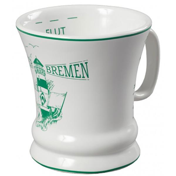 SV Werder Bremen Tasse Leuchtturm