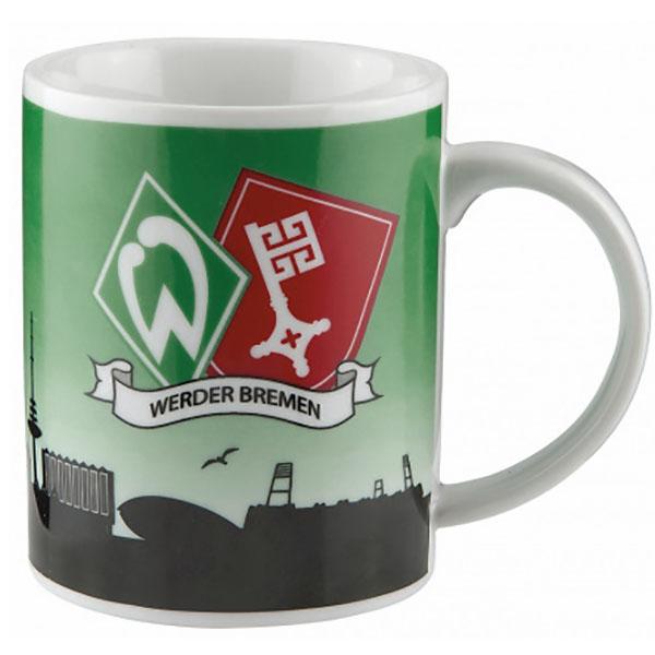 SV Werder Bremen Tasse Stadtwappen