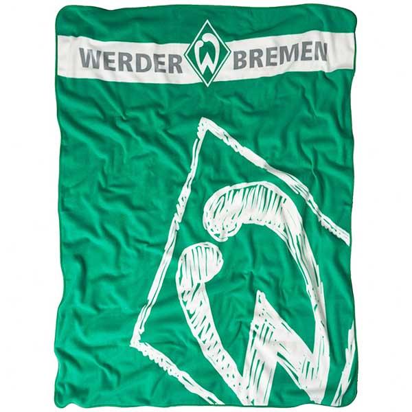 SV Werder Bremen Fleecedecke Krakelei