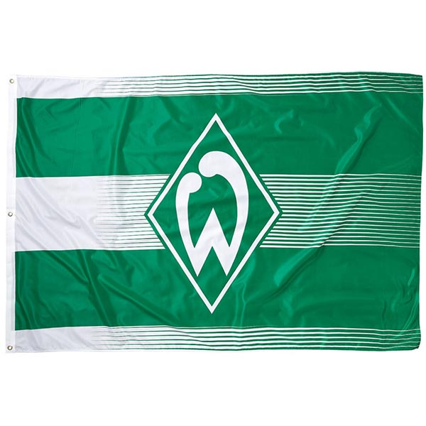 SV Werder Bremen Hissfahne Logo 180 x 120 cm