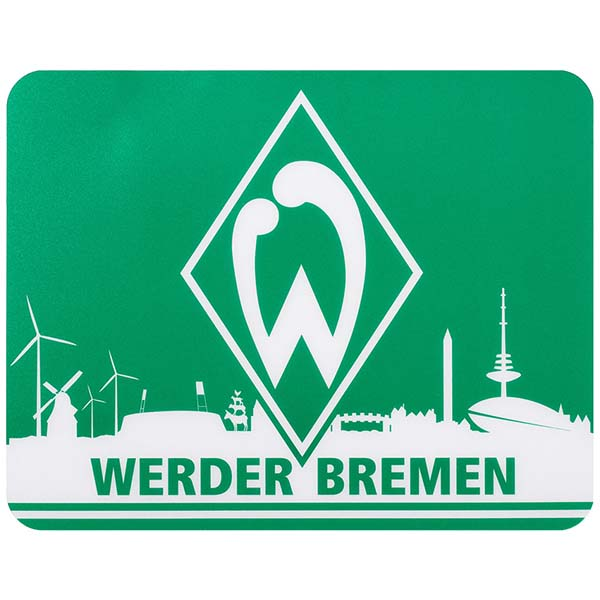 sv werder bremen mousepad skyline. Black Bedroom Furniture Sets. Home Design Ideas