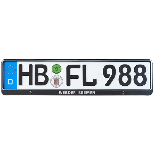 SV Werder Bremen Kennzeichenverstärker