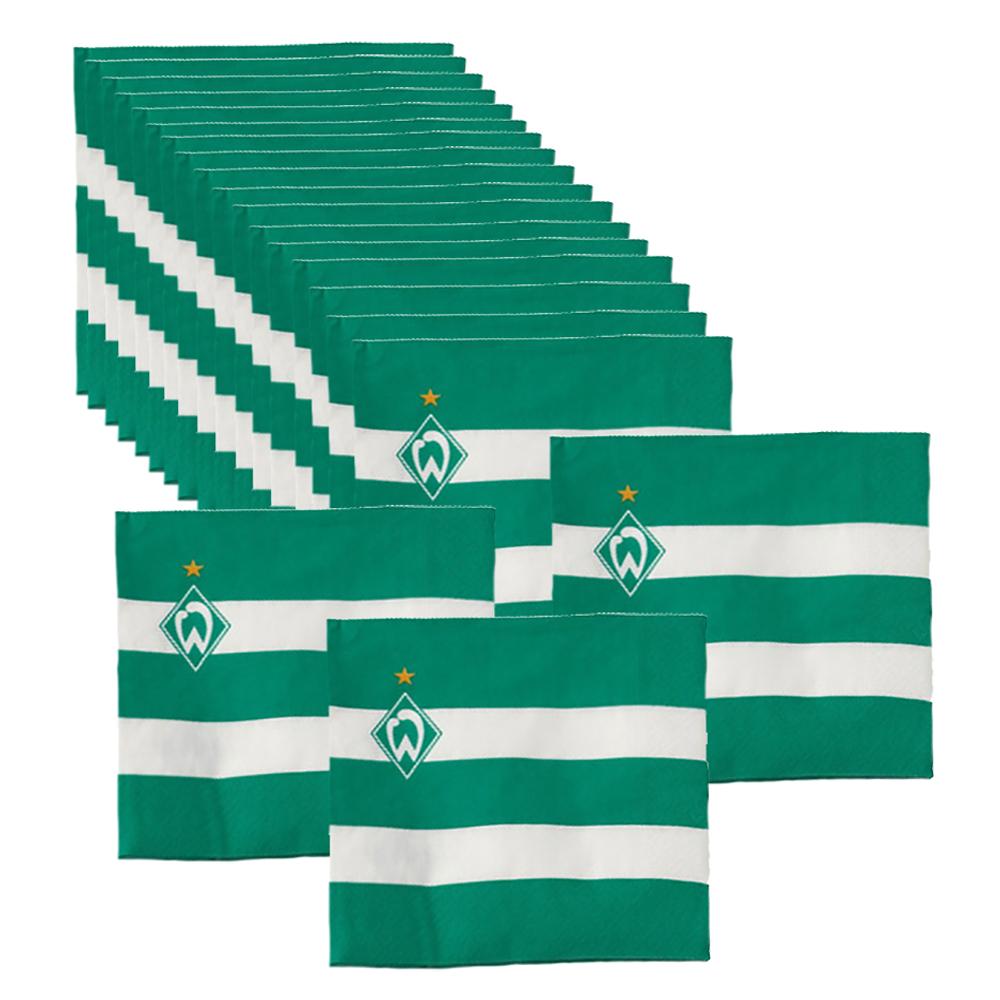 SV Werder Bremen Servietten 20er-Set