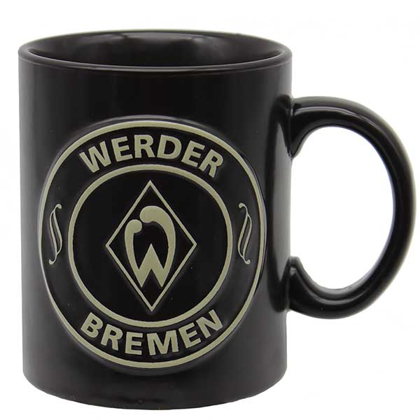 SV Werder Bremen Tasse Relief