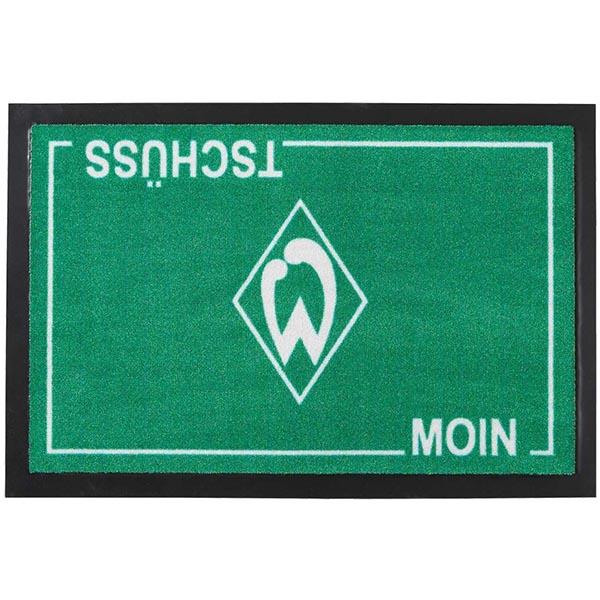 SV Werder Bremen Haustürmatte Moin Tschüss