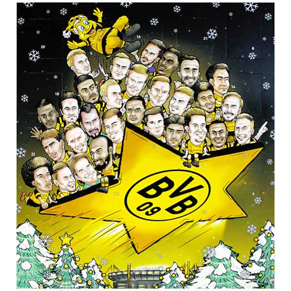 BVB Adventskalender 2018 Comic