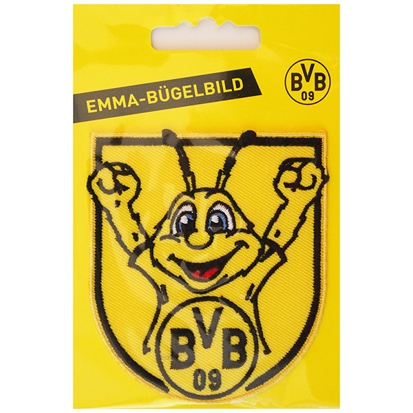bvb borussia dortmund aufn her aufb gler bvb maskottchen emma ebay. Black Bedroom Furniture Sets. Home Design Ideas