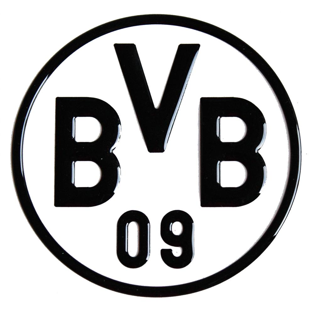 BVB Aufkleber BVB Logo 3D schwarz