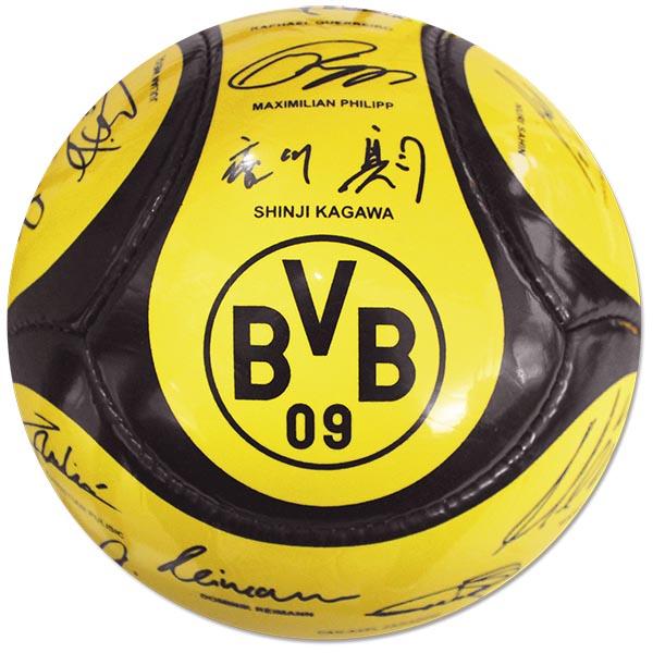 BVB Ball Unterschriften 2017/2018 gross