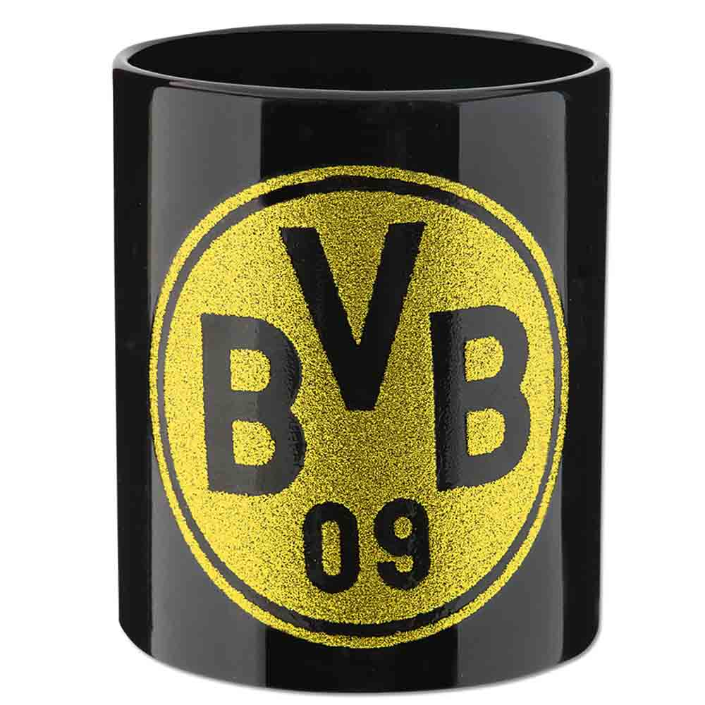 BVB Tasse BVB Logo Glitzer