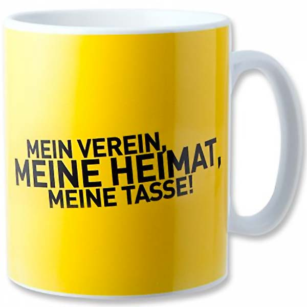 BVB Tasse Mein Verein Meine Heimat Meine Tasse