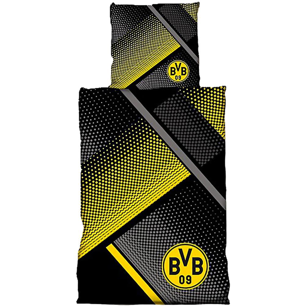BVB Bettwäsche mit Punkten Übergröße