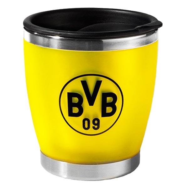 bvb borussia dortmund kaffeebecher becher tasse coffee to go klein 4009049386249 ebay. Black Bedroom Furniture Sets. Home Design Ideas