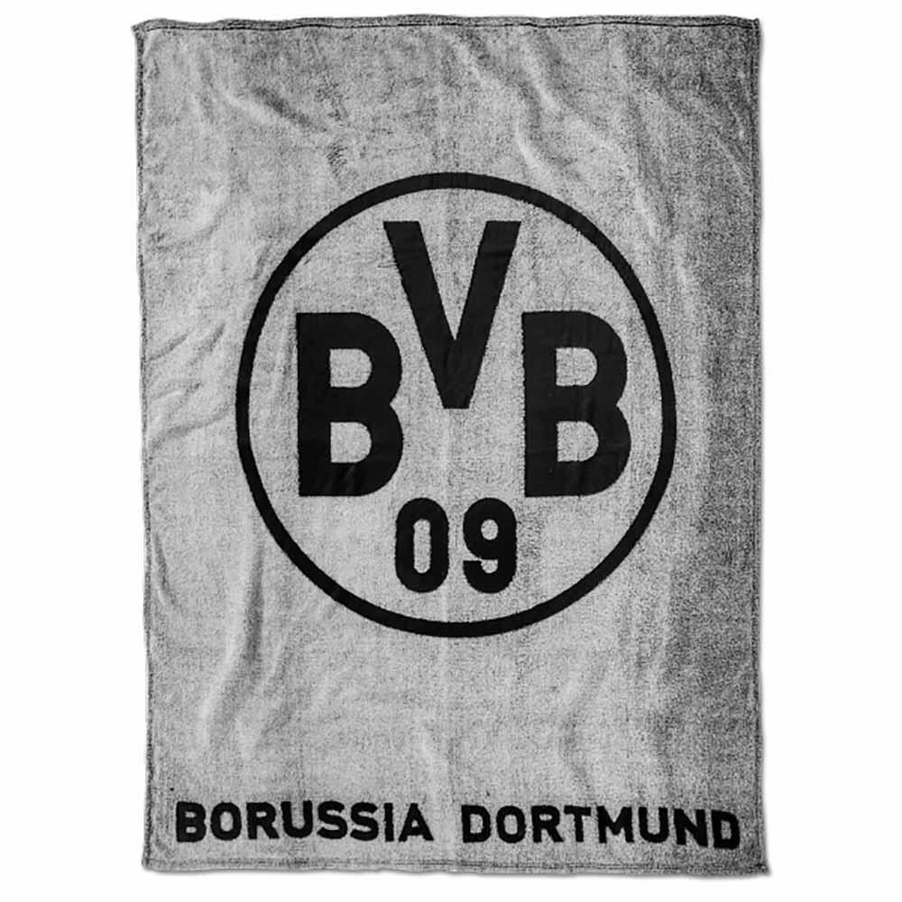 BVB Decke BVB Logo grau