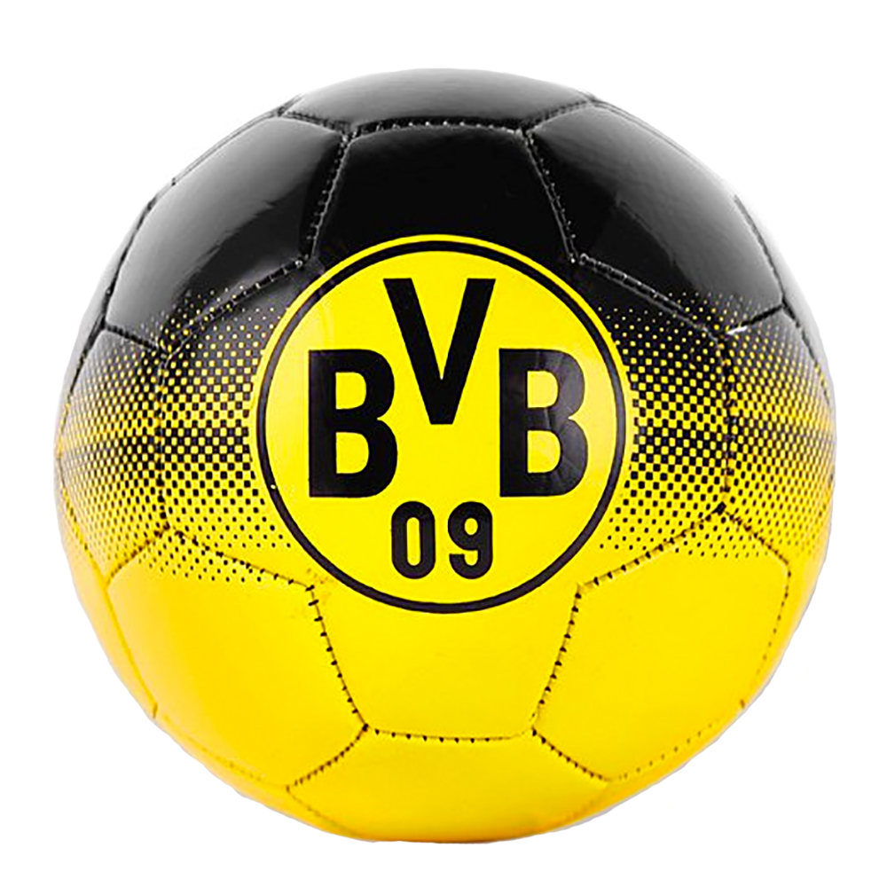 bvb fussball bvb logo punktemuster gr e 5. Black Bedroom Furniture Sets. Home Design Ideas