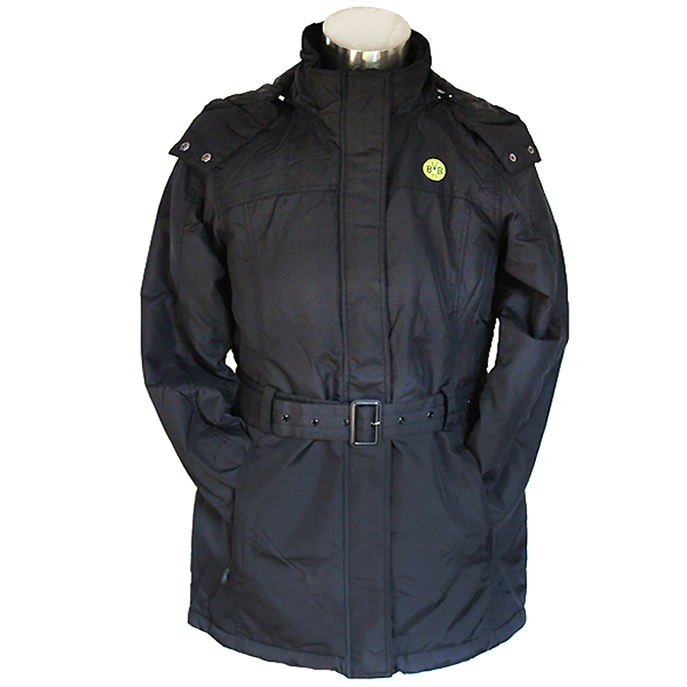 BVB Damen Jacke schwarz