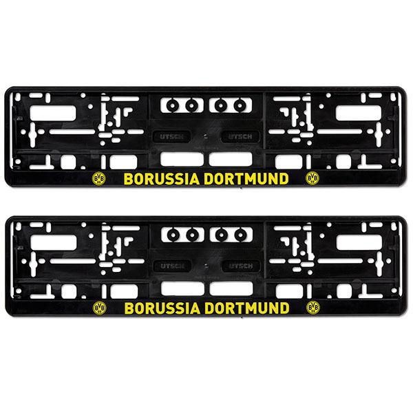 BVB Kennzeichenverstärker Borussia Dortmund 2er-Set