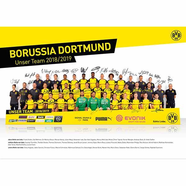 BVB Poster Team 2018/2019