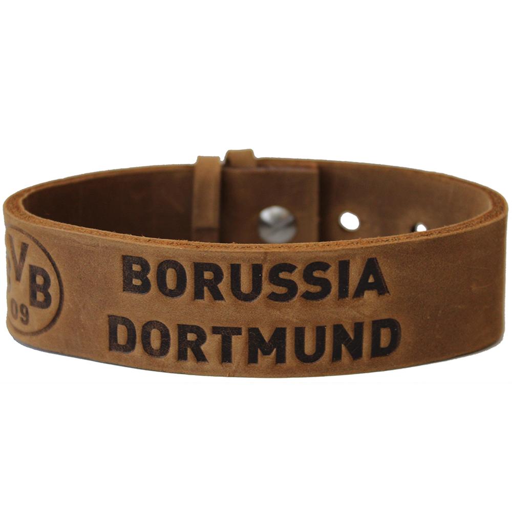 BVB Armband Borussia Dortmund braun