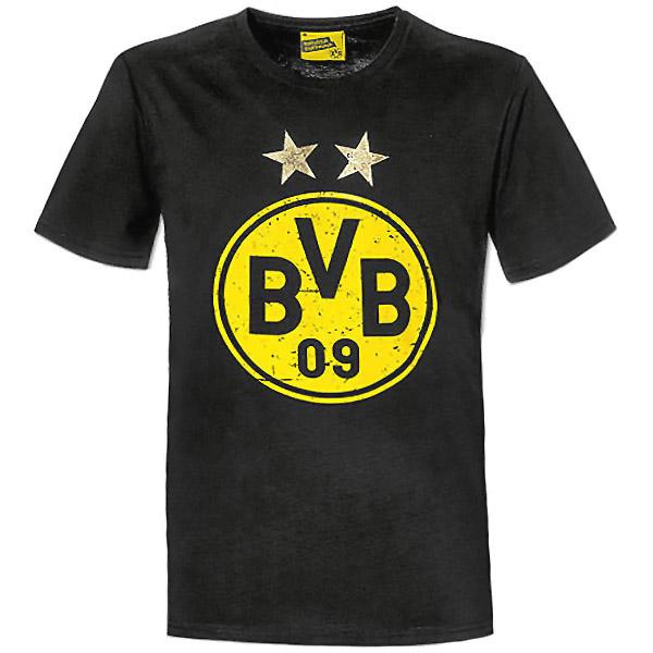 BVB T-Shirt BVB Logo schwarz