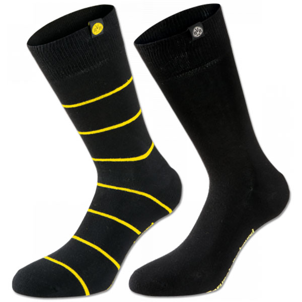 BVB Business Socken 2er Set 35-38