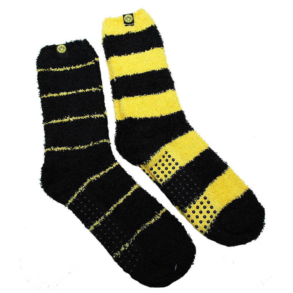 BVB Kuschel-Socken 2er Set