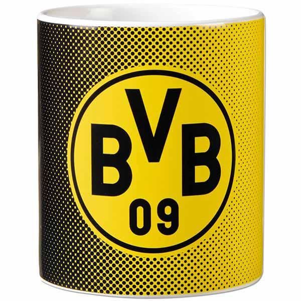 BVB Tasse Punkte schwarz gelb