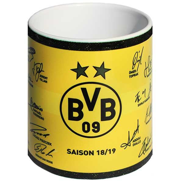 BVB Tasse Unterschriften 2018/2019