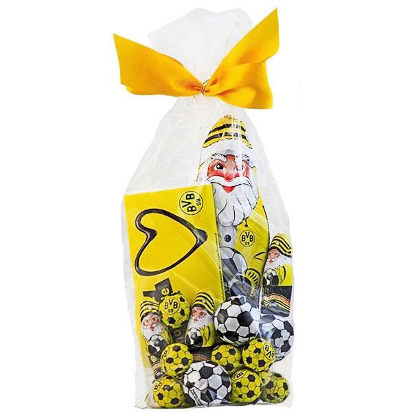 BVB Weihnachtsmann Schokoladen Mix