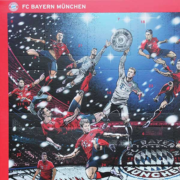 Weihnachtskalender Bayern Munchen