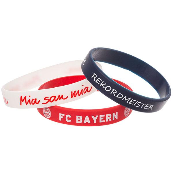 FC Bayern München Armband 3er Set