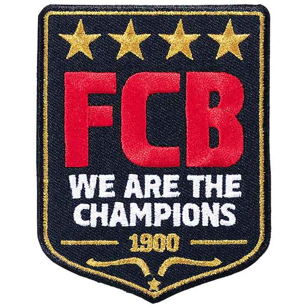 FC Bayern München Aufnäher We are the champions