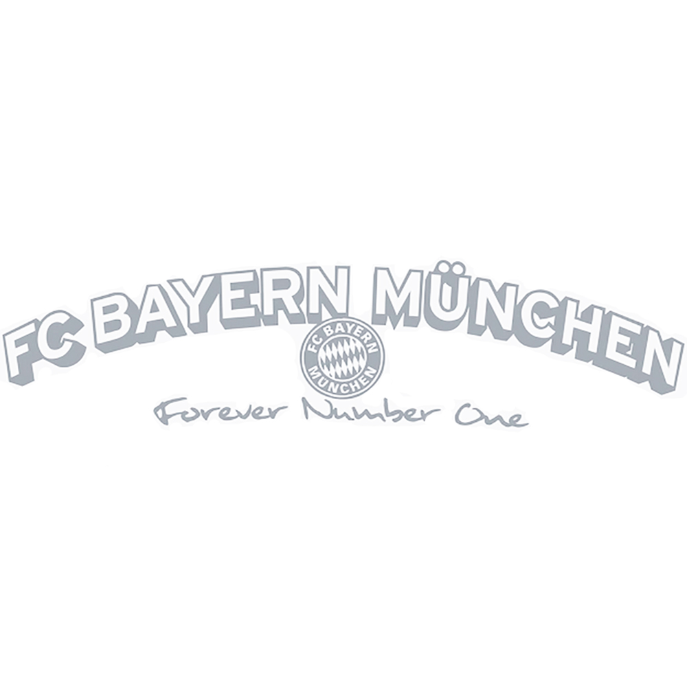 fc bayern m nchen autoaufkleber forever number one. Black Bedroom Furniture Sets. Home Design Ideas