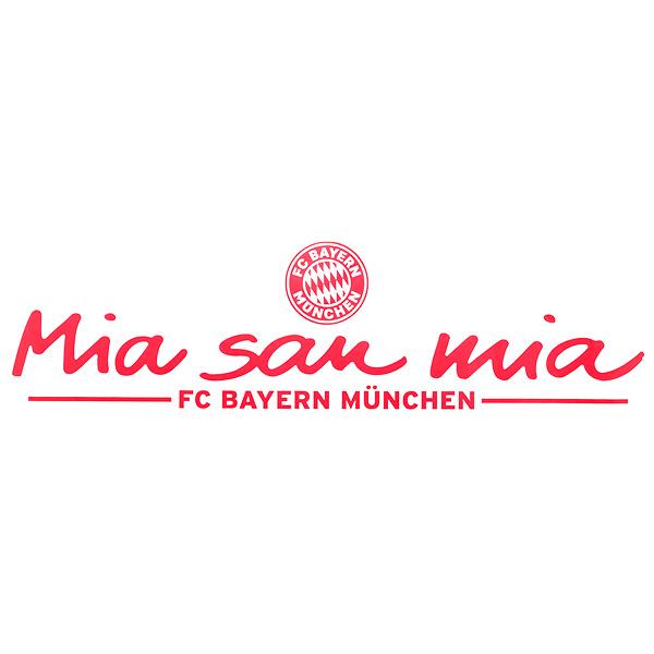 Details Zu Fc Bayern München Aufkleber Mia San Mia Autoaufkleber Fcb Fanartikel 78 X 23 Rot