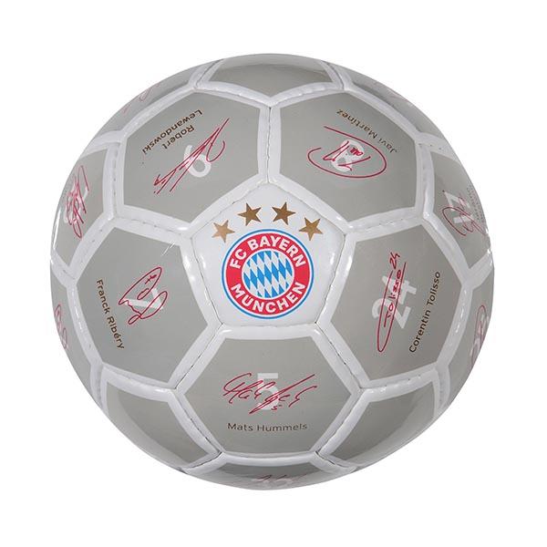 FC Bayern München Mini Ball Unterschriften 2017/2018