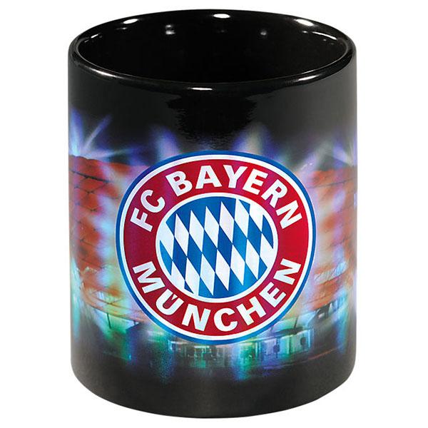 FC Bayern München Tasse Arena Metallic