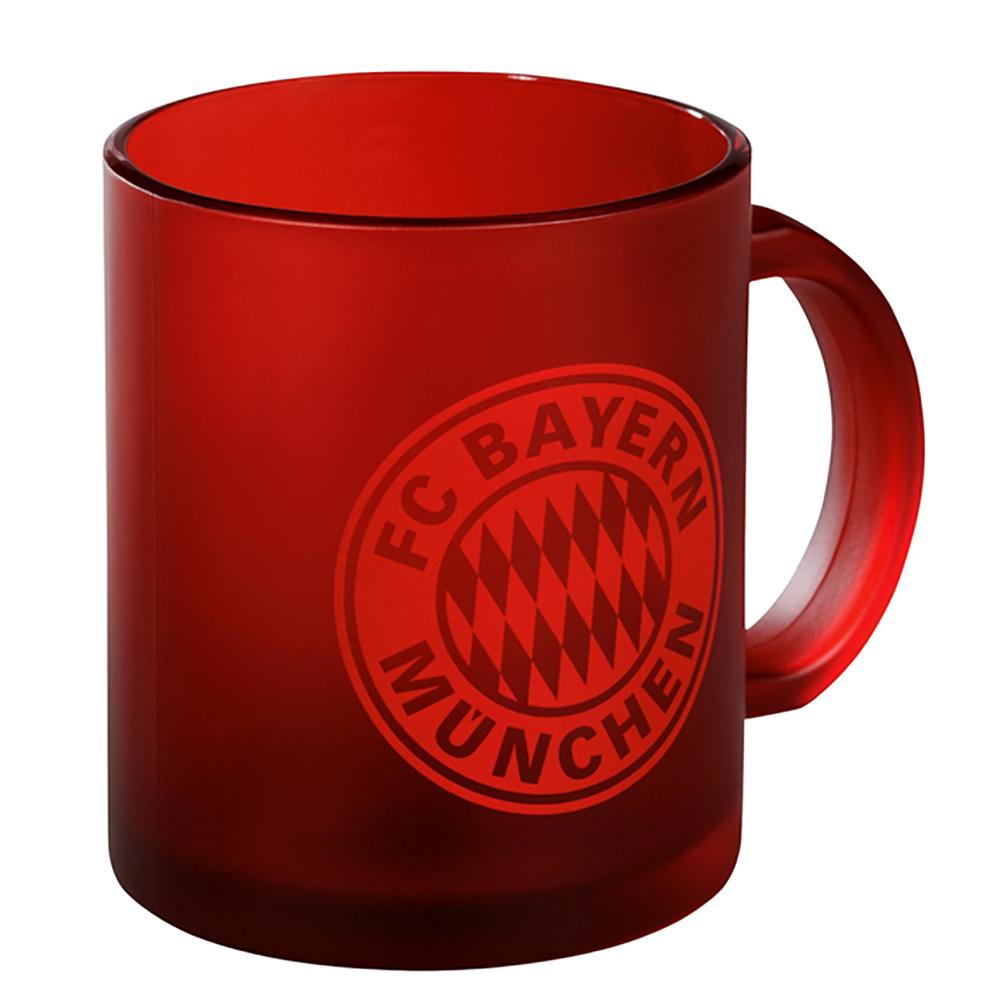 FC Bayern München Glastasse rot