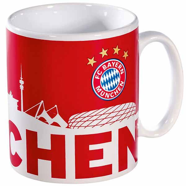 FC Bayern München Tasse München Skyline
