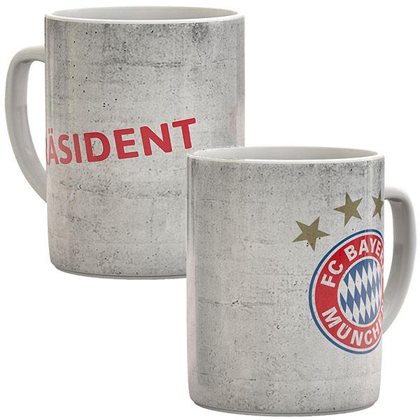 FC Bayern München Tasse Präsident